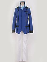 Недорогие -Вдохновлен Gundam Косплей Аниме Косплэй костюмы Косплей Костюмы Современный стиль Пальто / Блузка / Кофты Назначение Муж. / Жен.