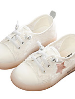 Недорогие -Девочки Обувь Сетка Весна & осень Удобная обувь Кеды для Дети Черный / Розовый