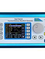 Недорогие -fy2300 Двухканальный высокочастотный генератор сигналов 50 МГц произвольной формы сигнала 200 мс / с 100 МГц частотомер ддс
