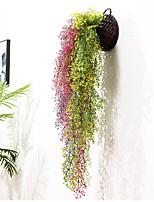 Недорогие -Искусственные Цветы 1 Филиал С креплением на стену Деревня Свадьба Pастений Букеты на стол