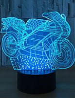 Недорогие -1шт LED Night Light Творчество / Cool 5 V