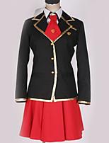 Недорогие -Вдохновлен Косплей Косплей Аниме Косплэй костюмы Школьная форма Английский / Современный стиль Пальто / Блузка / Кофты Назначение Муж. / Жен.
