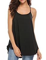 Недорогие -узкая женская блузка азиатского размера - однотонный ремешок