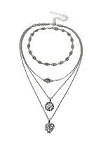 Недорогие -Жен. Многослойный ожерелья Сплав
