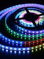 abordables -BRELONG® 5m Barrette d'Eclairage RVB 150 LED 5050 SMD RVB Imperméable / Créatif / Découpable 5 V 1pc