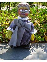 Недорогие -Неожиданные игрушки Интерактивная кукла Ужасы 12 дюймовый Очаровательный Дети / подростки Веселье Детские Универсальные Игрушки Подарок