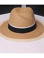 Недорогие -Жен. Винтаж / Праздник Шляпа от солнца - Заклепки С принтом