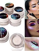 Недорогие -5 цветов Тени Повседневные / Highlighter / Подводка для глаз Модный дизайн / Легко для того чтобы снести / Многофункциональные Многофункциональный Повседневный макияж Составить косметический