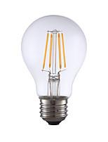 Недорогие -gmy a19 светодиодные лампы Эдисона 4 Вт светодиодные лампы накаливания эквивалент 32 Вт с e26 база 2700 К для спальни гостиной дома decorativ