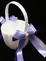 Недорогие -Цветочные корзины Прочее 22 см Искусственный жемчуг / Атласный бант 1 pcs