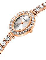 Недорогие -Жен. Наручные часы Кварцевый Розовое золото Повседневные часы Аналоговый На каждый день Мода - Розовое золото / Нержавеющая сталь