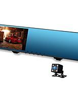 Недорогие -Vasens 168P 720p / 1080p Новый дизайн / Двойной объектив Автомобильный видеорегистратор 170° Широкий угол КМОП-структура 4.3 дюймовый LCD Капюшон с WIFI / G-Sensor / Режим парковки Нет