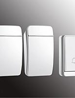 Недорогие -Factory OEM Беспроводное От одного до двух дверных звонков Музыка / Дзынь-дзынь Невизуальные дверной звонок Крепеж на поверхности