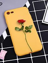 Недорогие -Кейс для Назначение Apple iPhone XR / iPhone XS Max С узором Кейс на заднюю панель Растения / Цветы Мягкий ТПУ для iPhone XS / iPhone XR / iPhone XS Max