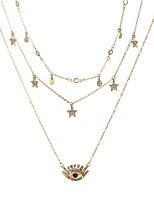 Недорогие -женское элегантное ожерелье из сплава