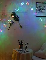 Недорогие -5 метров Гирлянды 136 светодиоды Декоративная 220-240 V 1 комплект