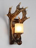 Недорогие -Творчество Деревенский Настенные светильники В помещении Смола настенный светильник 220-240Вольт 40 W