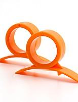 Недорогие -FACKELMANN ПП (полипропилен) Режущие инструменты Экологичные Легко для того чтобы снести Творческая кухня Гаджет Кухонная утварь Инструменты Для фруктов Оранжевый 6шт