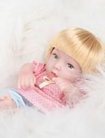 Недорогие -FeelWind Куклы реборн Кукла для девочек Девочки 12 дюймовый Полный силикон для тела Силикон Винил - как живой Ручная Pабота Очаровательный Безопасно для детей Дети / подростки Non Toxic Детские