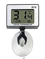 Недорогие -DC16 Водонепроницаемый / Портативные Внутренний термометр Семейная жизнь, LCD дисплей, Стиль путешествия