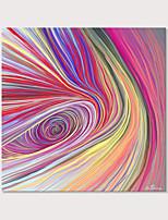 Недорогие -С картинкой Отпечатки на холсте - Абстракция Виды искусства Modern