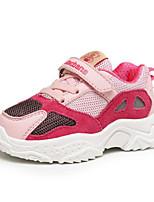 Недорогие -Девочки Обувь Сетка Наступила зима Удобная обувь Спортивная обувь Для прогулок для Дети (1-4 лет) Пурпурный / Светло-синий / Тёмно-синий