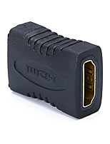 Недорогие -HDMI 1.4 Адаптер, HDMI 1.4 к HDMI 1.4 Адаптер Female - Female 1080P Короткий (менее 20 см)