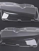 Недорогие -2pcs Автомобиль Автомобильные световые чехлы прозрачный Новый дизайн для Головной свет Назначение BMW 2002 / 2003 / 2004