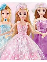 Недорогие -Кукла для девочек Модная кукла Говорящая игрушка Девочки 16 дюймовый Smart как живой Дети / подростки Детские Универсальные Игрушки Подарок