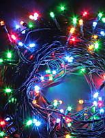 Недорогие -2,5м Гирлянды 200 светодиоды Разные цвета Декоративная Солнечная энергия 1 комплект