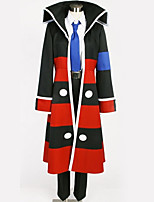Недорогие -Вдохновлен Косплей Косплей Аниме Косплэй костюмы Косплей Костюмы Полоски Пальто / Блузка / Кофты Назначение Муж. / Жен.