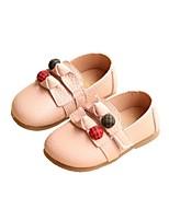 Недорогие -Девочки Обувь Микроволокно Наступила зима Обувь для малышей Мокасины и Свитер для Дети Черный / Бежевый / Розовый