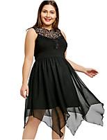 Недорогие -Жен. Классический Оболочка Платье До колена