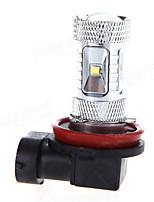 Недорогие -H11 30 Вт 920lm автомобиль противотуманные фары светодиодные белые лампы выпуклой линзы 12-24 В