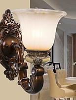Недорогие -Творчество Ретро Настенные светильники Спальня / В помещении Металл настенный светильник 220-240Вольт 40 W