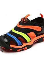 Недорогие -Мальчики / Девочки Обувь Искусственная кожа Лето Удобная обувь Кеды для Дети Черный / Красный / Синий
