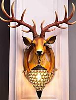 Недорогие -Cool Традиционный / классический Настенные светильники В помещении Смола настенный светильник 220-240Вольт 40 W