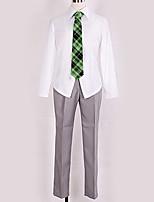 Недорогие -Вдохновлен Косплей Косплей Аниме Косплэй костюмы Косплей Костюмы Английский Блузка / Кофты / Брюки Назначение Муж. / Жен.