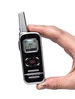 baratos -m6p rádio em dois sentidos 128 canais 400-520 mhz com display lcd presunto fm rádio mini walkie talkie para restaurante / hotel / escola
