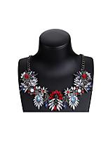 Недорогие -Жен. Простой / Мода ожерелья Контрастных цветов