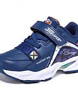 Недорогие -Мальчики Обувь Искусственная кожа Зима Удобная обувь Спортивная обувь Беговая обувь для Для подростков Черный / Темно-синий / Красный