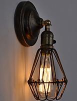 Недорогие -Творчество Ретро Настенные светильники Спальня / Кабинет / Офис Металл настенный светильник 200-240 Вольт