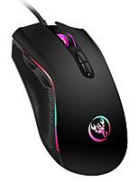 Недорогие -HXSJ Проводной USB Gaming Mouse / Управление мышью A874 7 pcs ключи LED подсветка 4 Регулируемые уровни DPI 7 программируемых клавиш 3200 dpi