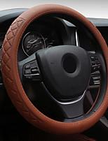 Недорогие -универсальный 38см автомобиль 3d накатка кожа автомобиль стальное кольцо крышка колеса