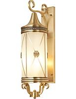 Недорогие -Cool Современный современный Настенные светильники Коридор Металл настенный светильник 220-240Вольт