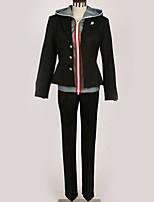 Недорогие -Вдохновлен Danganronpa Makoto Naegi Аниме Косплэй костюмы Косплей Костюмы Современный стиль Кофты / Брюки / Костюм Назначение Муж. / Жен.