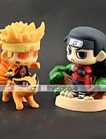 Недорогие -Аниме Фигурки Вдохновлен Наруто Hokage Naruto Uzumaki ПВХ 8 cm См Модель игрушки игрушки куклы