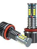 Недорогие -2pcs H8 Автомобиль Лампы 120 W 2200 lm 12 Налобный фонарь Назначение BMW E92