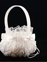Недорогие -Цветочные корзины Прочее 22 см Цветы из сатина / Атласныйбант 1 pcs