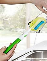 Недорогие -Кухня Чистящие средства губка / Жесткие пластиковые Тряпка / щетка Творческая кухня Гаджет 1шт